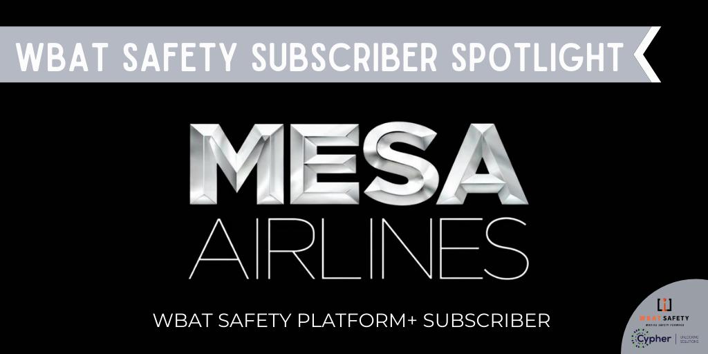 Subscriber Spotlight: Mesa Air Group
